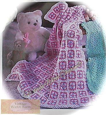 (Crochet Pattern Baby Afghan Blanket