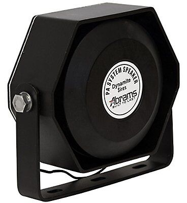 Compact 100 Watt High Performance Siren Speaker Capable With Any 100 Watt Siren