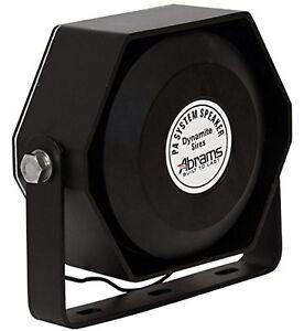Compact 100 Watt High Performance Siren Speaker (Capable with Any 100 Watt Siren