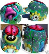 Airbrushed Baseball Helmet