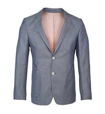 Guide London Slim Fit Blazer Blue Mens 42 Box75 14 P