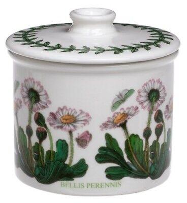 - Portmeirion Botanic Garden Drum Shaped Covered Sugar Bowl