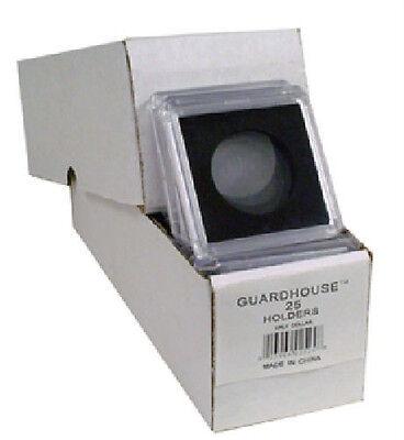 25 - Guardhouse 2x2 Tetra Snaplock Coin Holders for Half dollar 30.6mm