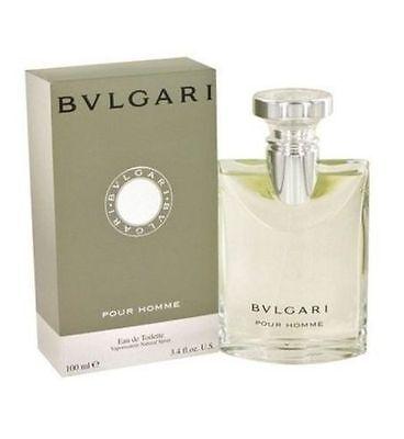 Bvlgari Pour Homme Eau de Toilette Spray 3.4 oz / 100 ML Sealed New Box