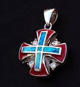 Crusader Cross Pendant