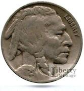 Partial Date Buffalo Nickels