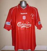 Liverpool Shirt 2001