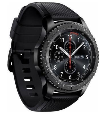Samsung Galaxy Tailor S3 Frontier SM-R765V Verizon LTE BLACK 4GB Smart Watch 46mm