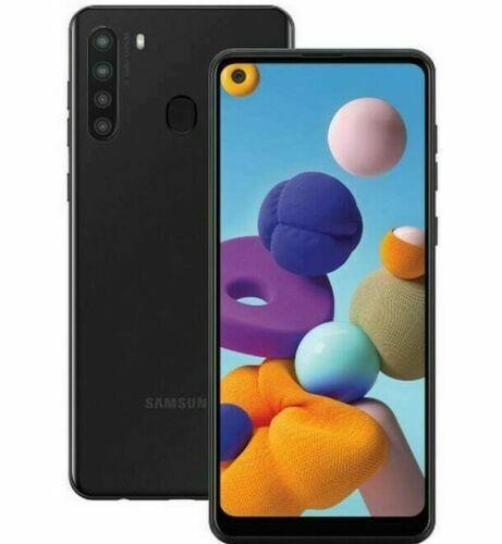 Samsung Galaxy A21 (Single Sim) 32GB Black - GSM Unlocked