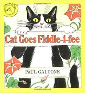 Cat Goes Fiddle-I-Fee Paperback by Paul Galdone