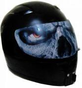 Helmet Visor Sticker