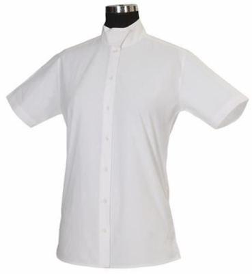 Tuffrider Ladies Show Shirt - Tuffrider Ladies Starter Short Sleeve Show Shirt with Snap Back Collar