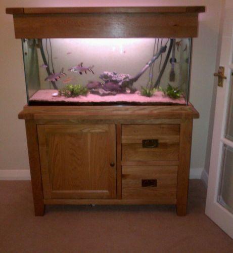 Oak Aquarium Ebay