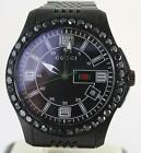 Mens Black Diamond Gucci Watch