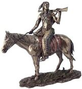 Indian on Horse Figurine