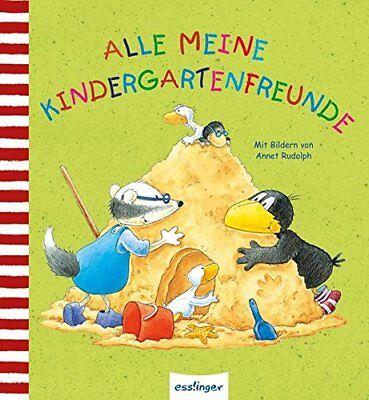 Der kleine Rabe Socke * Alle meine Kindergartenfreunde * Freundebuch * esslinger