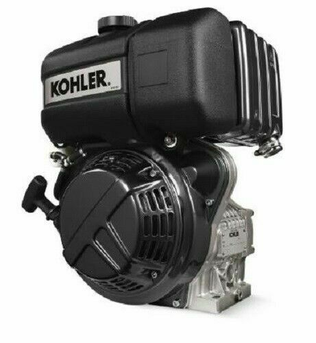 Lombardini Kohler Diesel engine KD15-350 6,8hp Oil bath filter Tapered shaft