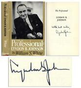 Lyndon B. Johnson Signed