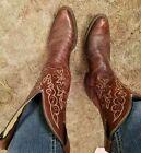 Justin Boots 9 Vintage Shoes for Men