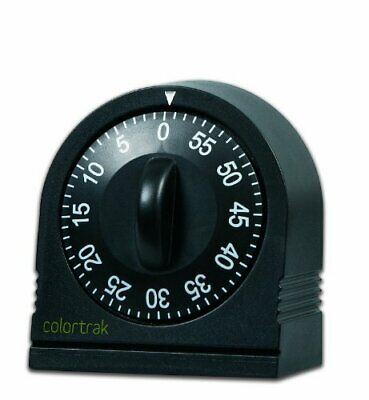 Long Ring Bell Alarm Loud 60-Minute Kitchen Cooking Wind Up Timer Mechanical New