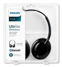 PHILIPS FLITE ULTRLITE WIRELESS HEADPHONES