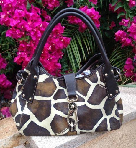 Used Michael Kors Handbags >> Dooney and Bourke Giraffe: Handbags & Purses | eBay