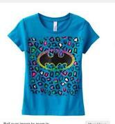 Girls Superman Shirt