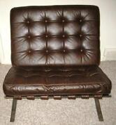 Mid Century Chrome Chair