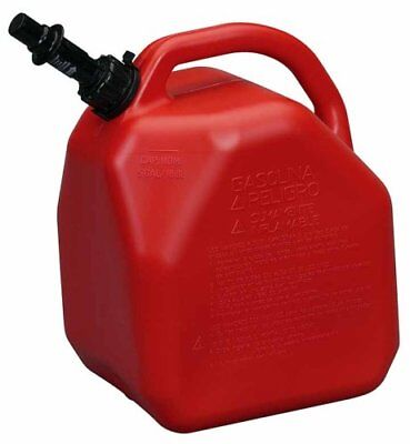 Scepter Eco Jerry Can With Child Resistant Closures  5 Gallon  Gas