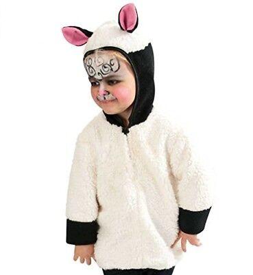 KarnevalsTeufel Schäfchen Kleinkinderkostüm Schaf Fasching Karneval - Schaf Kostüm Kleinkind