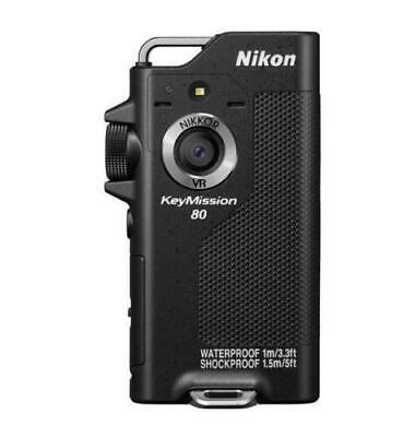 [Nikon] KeyMission 80 Action Camera ActionCam Genuine Black