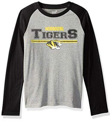 "NCAA by Outerstuff NCAA Missouri Tigers Kids & Youth Boys ""Field Line"" Long Sl.."