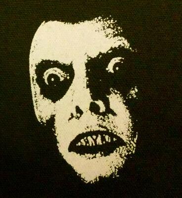 The Exorcist Captain Howdy - PATCH canvas screen print HORROR - Pazuzu cult punk