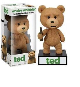 Ted Talking  Wacky Wobbler Bobble-Head  wackelkopf  figur Funko