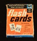 Vintage Math Flash Cards