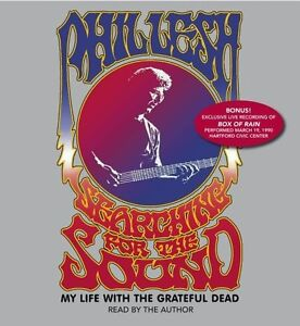 Phil Lesh/Grateful Dead-Searching For The Sound-5 cd audio book
