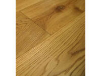 Oak Flooring - Brushed & Oiled NEW unopened 180mm wide