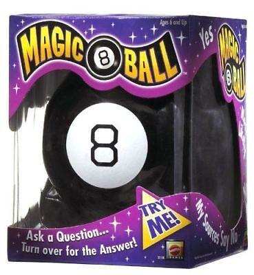 Magic 8 Ball Spielzeug Fortune New Teller Classic Spiel Antworten Acht...
