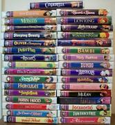 Disney Masterpiece Collection VHS