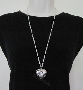 Heart pendant ebay large heart pendant mozeypictures Choice Image