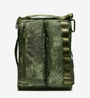 Unisex Nike Profile Printed Backpack BA6379-395 Camo Olive/Black NEW