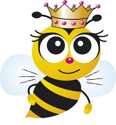 6  Queen Bee stickers for planners & scrapbooks - Stickers For Scrapbooking