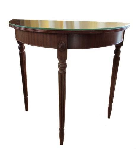 Demi lune table ebay - Table cuisine demi lune ...