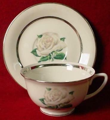 VOGUE china MANOR HOUSE pttrn CUP & SAUCER Set China Manor House