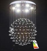 LED Deckenleuchte Glas