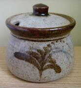 Lidded Studio Pottery