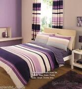 Striped Bedding