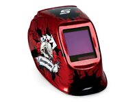 Snap On YA4606 Helmet, Auto-Darkening, Grind Feature, Wide View Lens