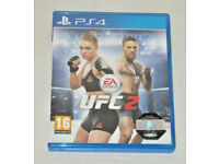 SONY PLAYSTATION PS4 GAME UFC 2 EA SPORTS ULTIMATE FIGHTER CHAMPIONSHIP HOLOGRAM