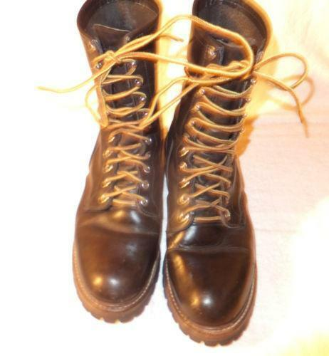 Red Wing Logger Boots Ebay